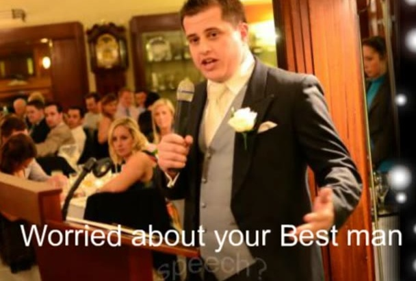 give you the Secrets to the GREATEST best man Speech