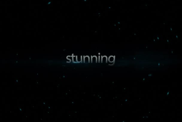 do this stunning promo teaser video
