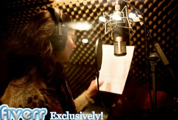 do Clear Professional Voice Over for your Script Quick Turn Around