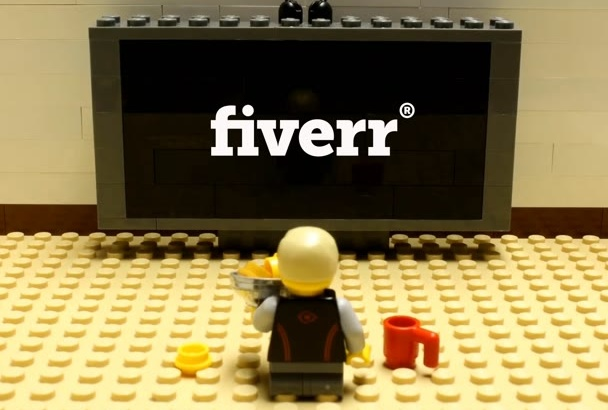 make LEGO Stop Motion Watching Your Logo or Video