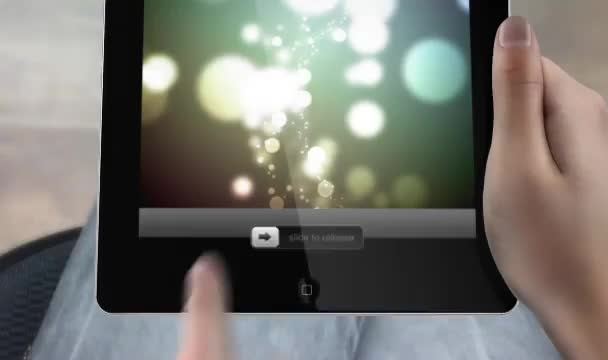 create promotion video with 3d tablet
