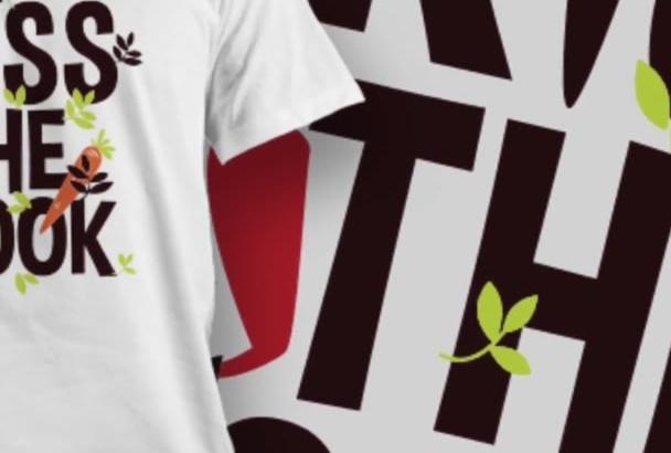 create a Trendy T Shirt Design
