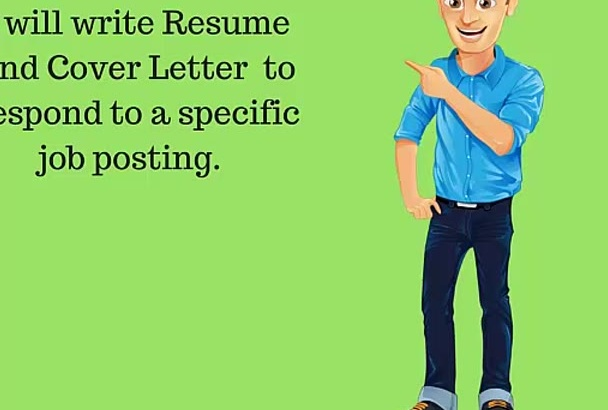 write you an AWESOME Resume or Cover Letter