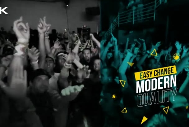 create Event party club promotional video