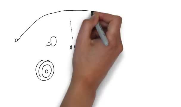 make a 30 sec white board animation