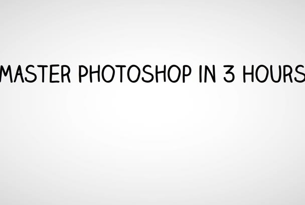 show You How To Master Photoshop in 3 Hours