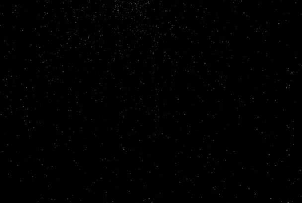design this beautiful starry night video intro
