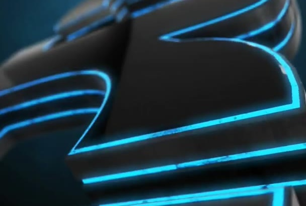 create DUBSTEP Glow Cinematic 3D Logo Reveal Intro