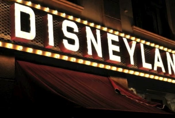 produce a CUSTOM Surprise Disneyland Trip Video