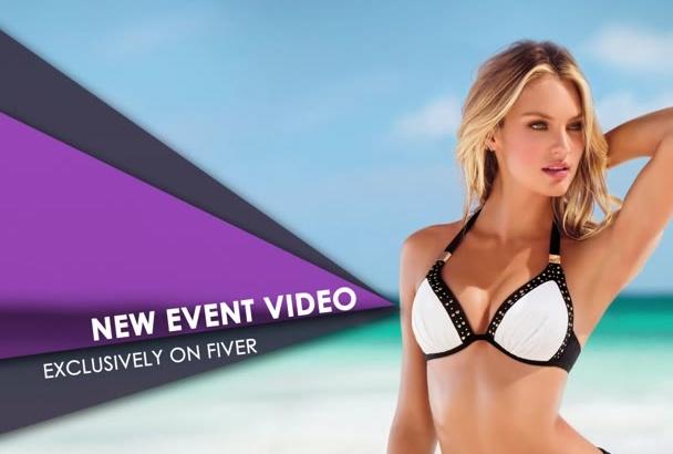create this Unique , event promo,Intro, Professional video