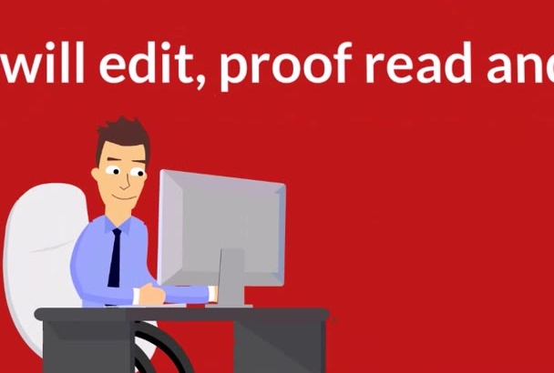 proofread and rewrite any business doc