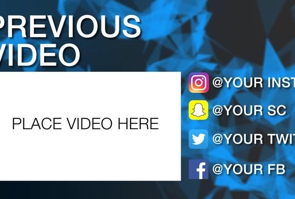 make this amazing Youtube Outro