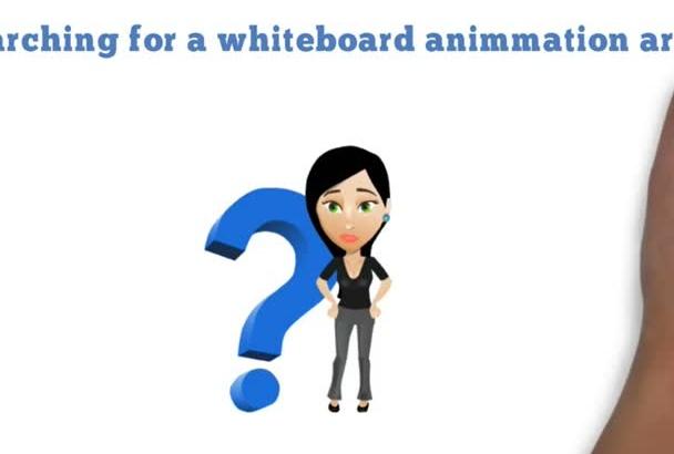 do a creative whiteboard video