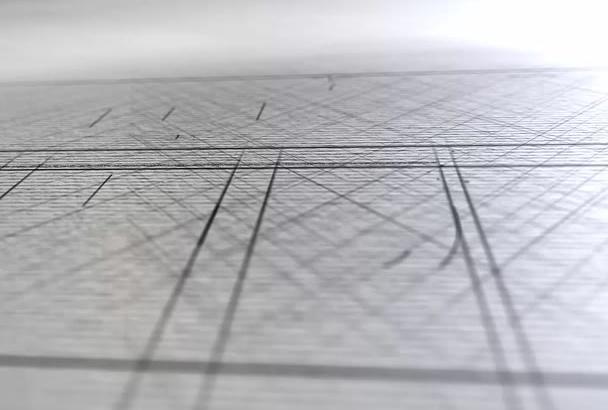create amazing sketch clean  intro