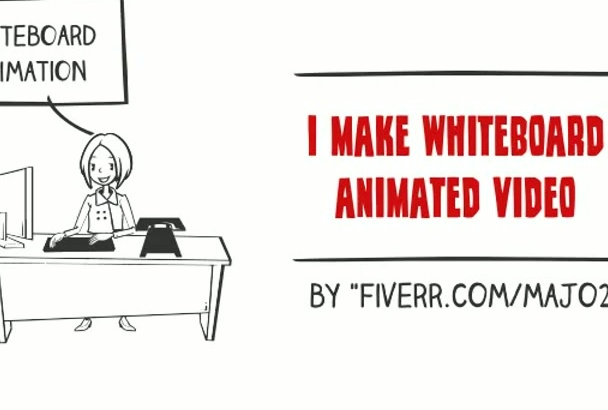 awesome whiteboard video animation