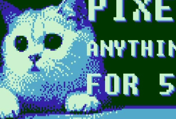 create pixel art of ANYTHING