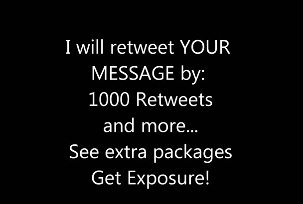 do 1000 Twitter Retweets FASTER than anyone