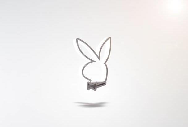 make 4 awesome logo intro Full HD