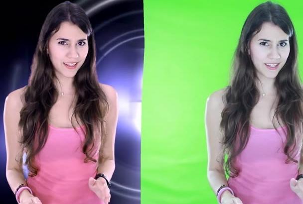 remover tu fondo verde de tu video con correción color