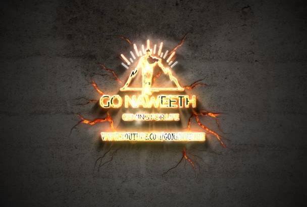 create this 3D Metal Builder 3 intro for your logo