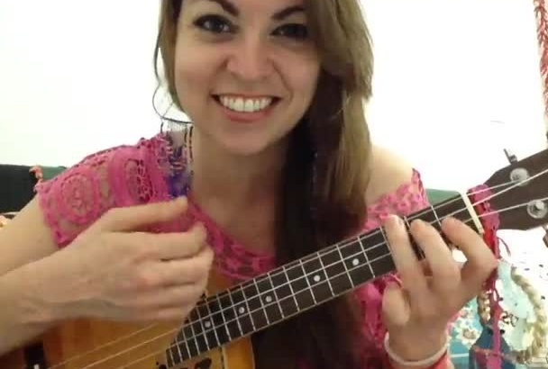 create a ukulele tutorial video for any song
