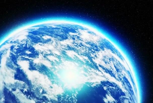 do amazing Earth Zoom Logo Reveal Intro