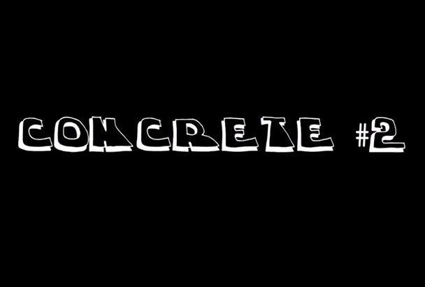 create a Unique Concrete or Wood Crumble Intro Video