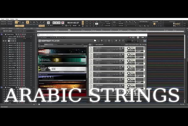 give you my Kontakt Strings library