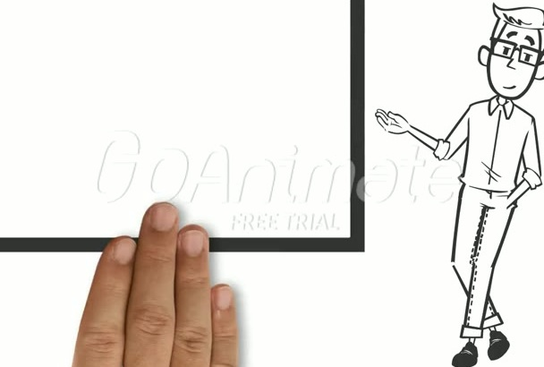 create an Authentic Whiteboard animation and Explainer video