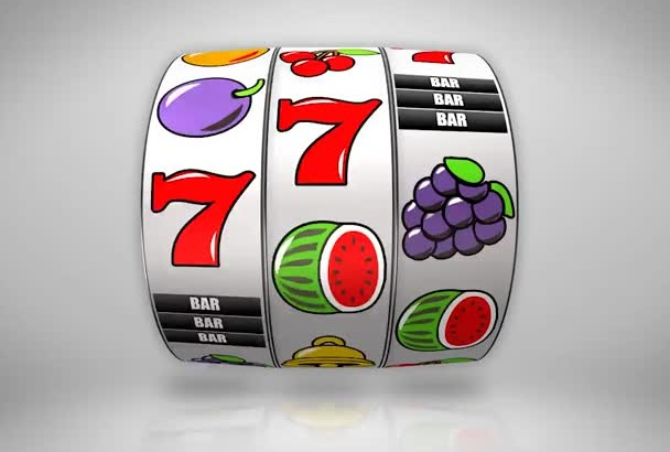 in just1day make gambling slot machine video showing your logo