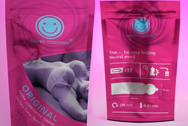 design professional product label and packet of your product