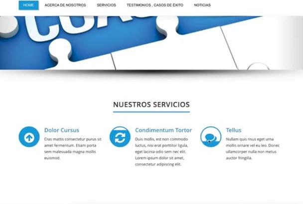 crear un sitio en Wordpress completo