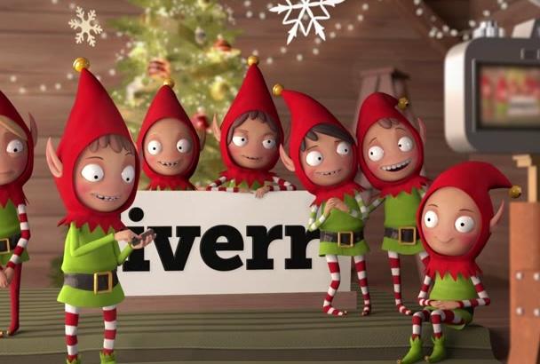 create a CUTE Christmas Elves Video