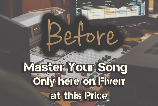 master you song to your needs