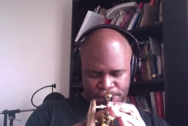 play trumpet for your music track