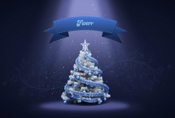 make this Christmas and New Year greeting card