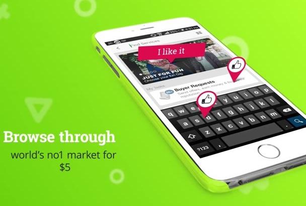 create amazing App promo