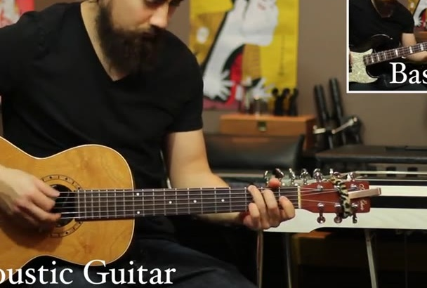 record guitar or other instruments for your song