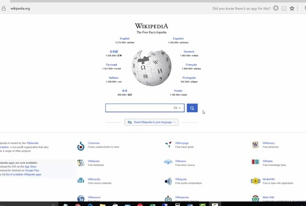 find expired domain with backlink from Wikipedia