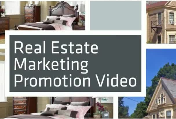 produce a Real Estate Video Marketing Promotion