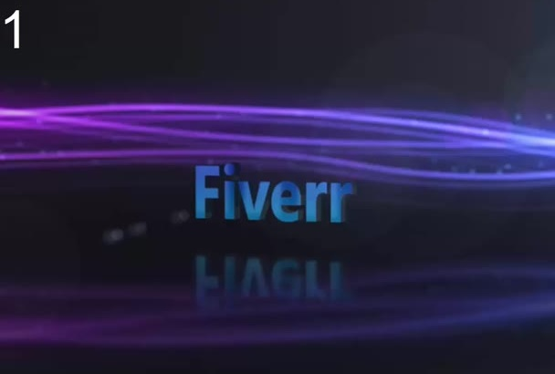 make these beauty logo intro for you