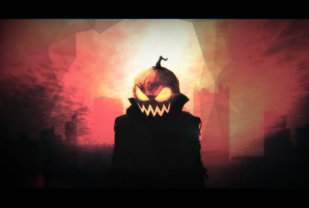 create Halloween intro of your choice