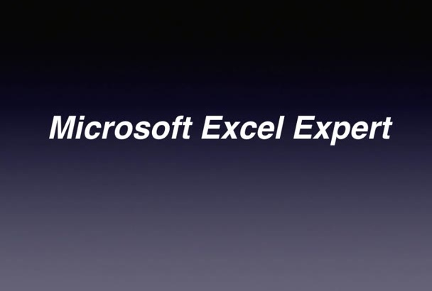 be your Microsoft Excel expert