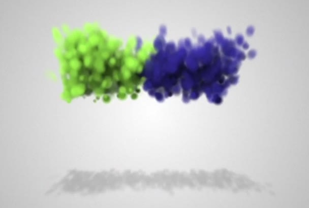 make your logo explode in particles