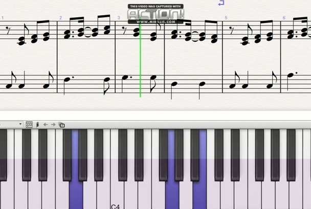 transcribe music into sheet