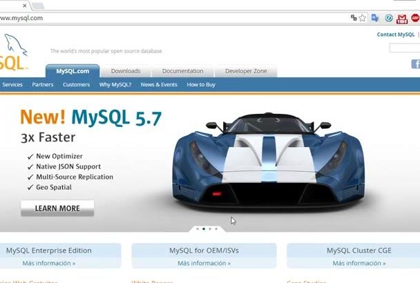 instalar tu Base de Datos Mysql