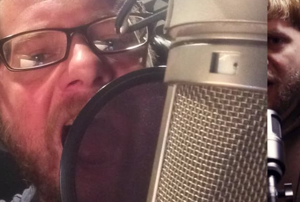 deliver a quality male voice over