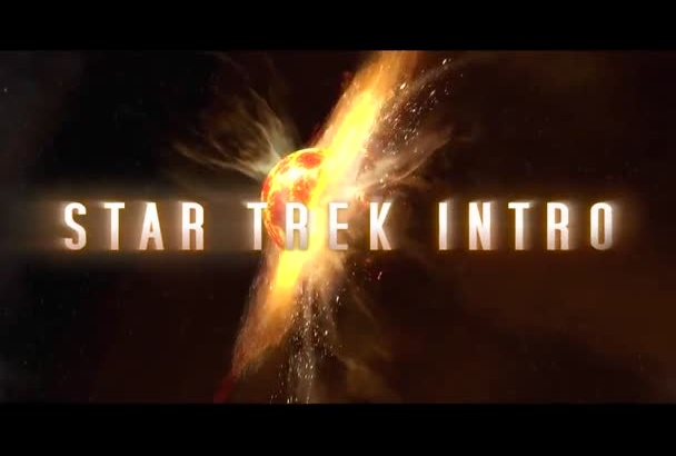 make star trek intro HD buy1get1