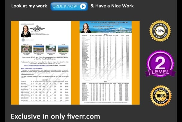 do attractive Brochures design