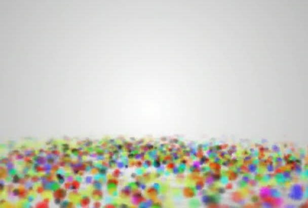 create your particle video animation